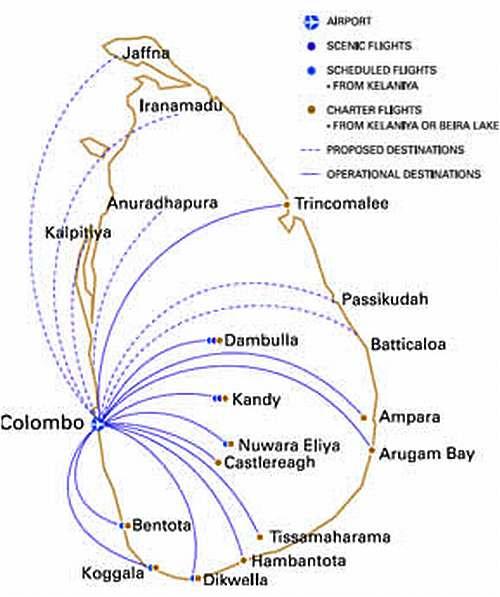 Zugnetz Sri Lanka