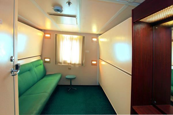 4 berth cabin with toilet
