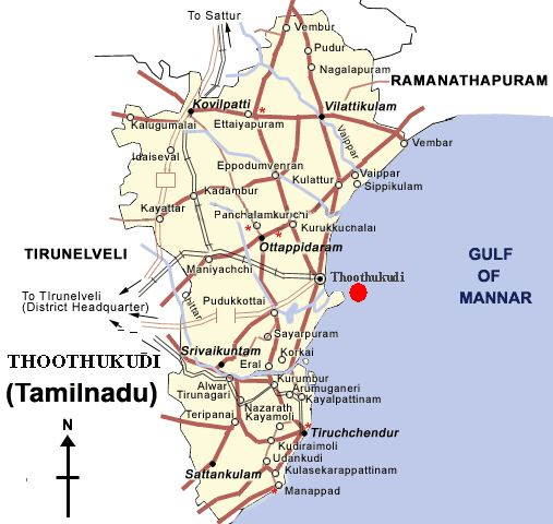 Thoothukudi Also Known As Tuticorin Is A Port City In